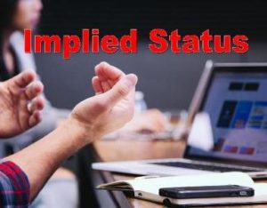 Implied Status | Stepwise Immigrations Surrey, Canada