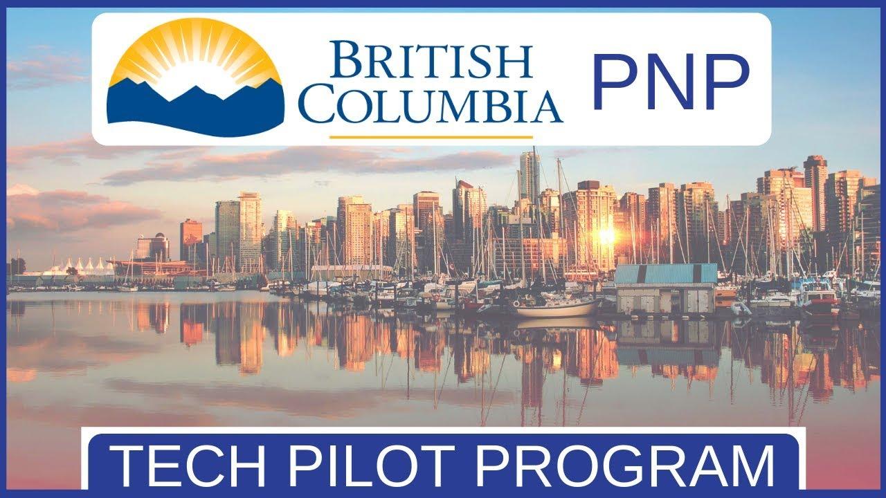 BC PNP tech pilot prog
